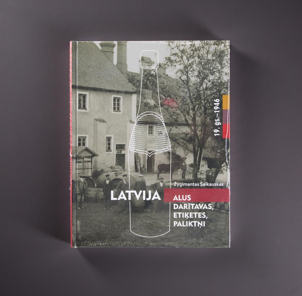 Žygimantas Šalkauskas. Latvija. Alus, daritavas, etiketes, paliktni. 19 gs.-1946