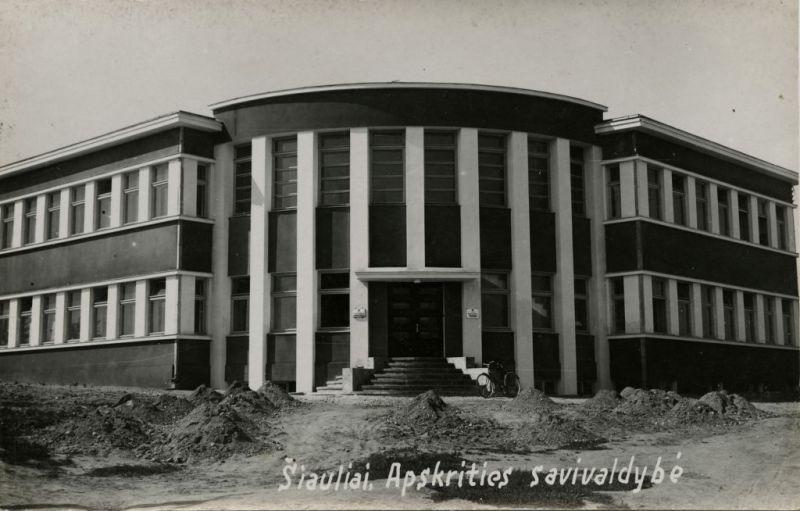 The Interwar Modern Architecture in Šiauliai