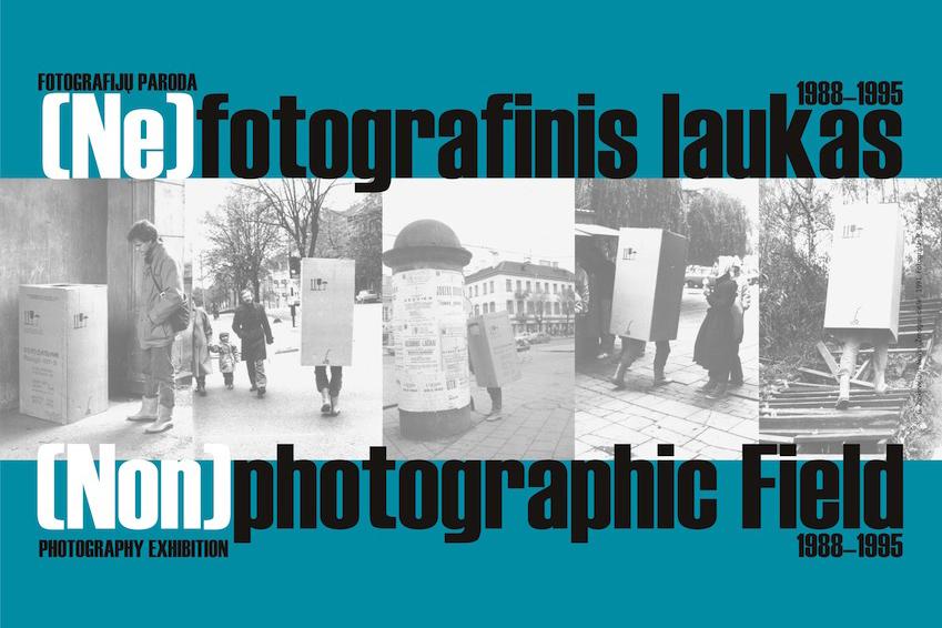 Exhibition (Non)photographic field. 1988–1995
