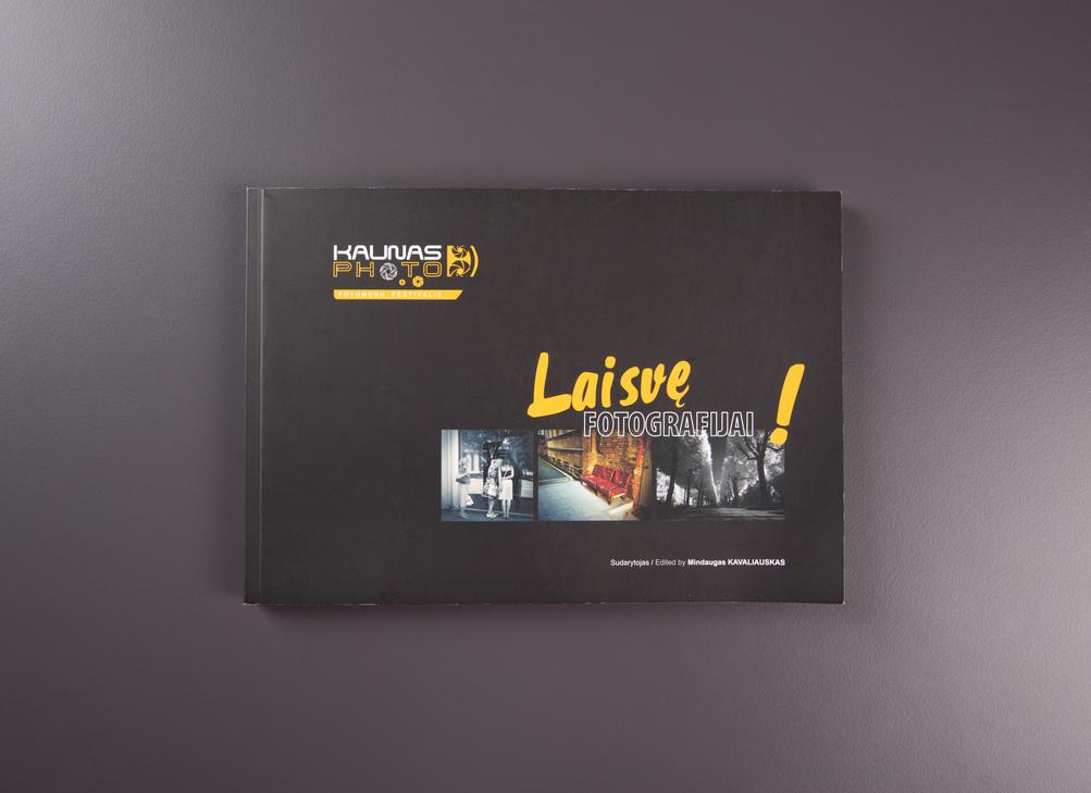 """Katalogas """"Laisvę fotografijai"""""""