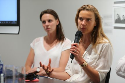 Susitikimas su menininke Indre Šerpytyte