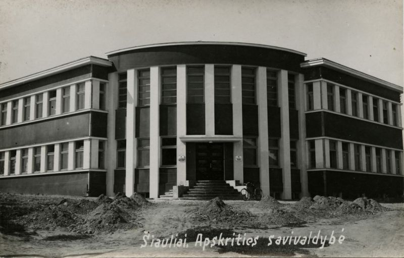 The Interwar Modern Architecture in Šiauliai